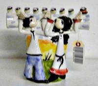 Ceramic Menorah