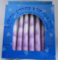 "Tapered Shabbat Candle 6"" long"