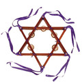 Plain Star of David Tambourine