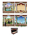 Exquisite Waterproof Fabric Mural - Sukkah Decoration