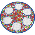 Emanuel Laser cut Seder plate