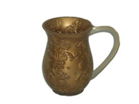 Acrylic Washing Cup Gold WC-AVI5192