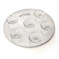 Crystal  Seder  Plate P-X577A