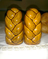 Challah Shape Salt & Pepper Shakers