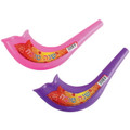 Plastic Childrens Toy Shofar - Assorted colors 24 Pack