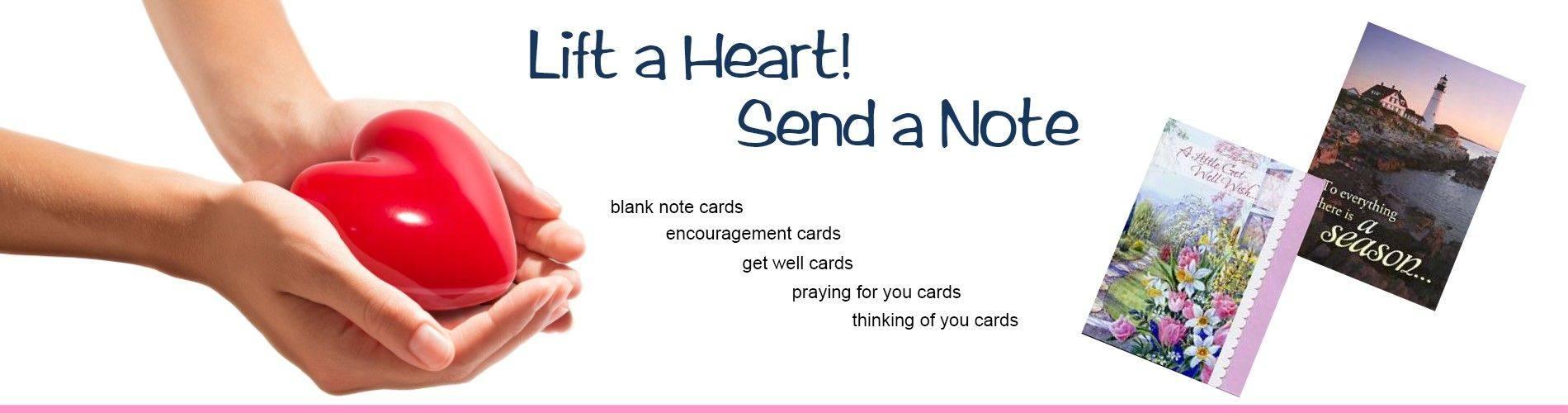Inspirational greetng cards