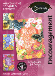 Butterfly Garden - Encouragement Cards
