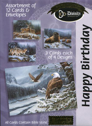 Wildlife birthday cards