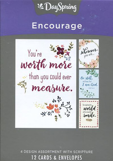 Words that Encourage : Encouragement Cards