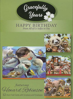Selfies - Gracefully Yours Birthday Cards