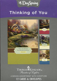 12 DaySpring Thinking of You cards