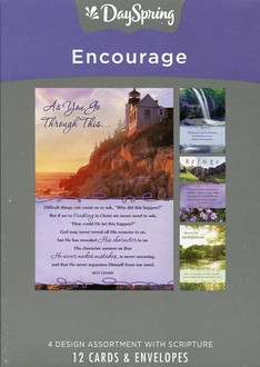 12 DaySpring Christian encouragement cards