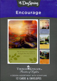 Encouragement greeting cards by Dayspring