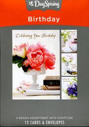 12 DaySpring boxed birthday cards