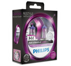 Philips H4 60/55w ColorVision Purple Car Headlight Bulbs (Twin Pack)