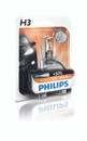 Philips H3 12v 55w Vision Car Headlight Bulb +30% More Light (HD21354)