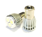 Xtec 382 P21w High Power LED Car Bulbs - Super White