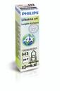 Philips H3 LongLife EcoVision 12V 55W Car Headlight Bulb