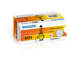 Philips H11 12v 55w Vision Car Headlight Bulb +30% More Light
