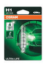 Osram H1 12v 55w Ultra Life up to 3 x Lifetime Bulb (Single) (64150ULT-01B)