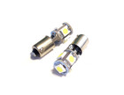 T4W (233) 5* 5050 SMD Canbus LED Bulbs