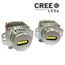 40w CREE-XPG Angel Eyes Halo Rings LED Side Marker - BMW 3 Series e90/e91 05-08