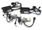 H4 (H/L) 50w Cree LED Headlight, Fog Light Kit 1800Lm (5000k White)