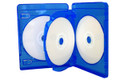 Blu-Ray 22mm Three-Disc Case