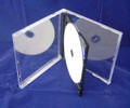 Black Tray Clear Box Assembled 10.4mm Double Jewel Case