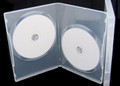Clear Double 14mm DVD Case