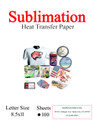 Sublimation Heat Transfer Paper 8.5x11