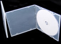 Ultra Slim Mini Clear Single DVD Case