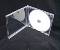 Clear Tray Assembled 10.4mm Single Jewel Case 100Pcs