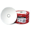 Ritek Ridata White Inkjet Hub Printable 52X CDR Media 80min/700MB