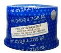 Spin-X 8X White Inkjet Hub Printable DVD-R 4.7GB