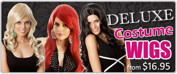Click here to view our range of Deluxe Costume Wigs