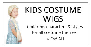 View our High Quality Childrens Costume Wigs