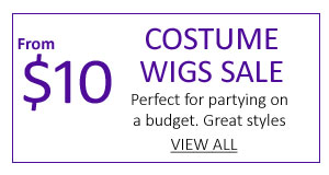 $10 Costume Wigs Sale