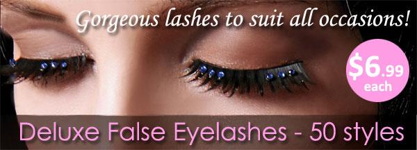 Deluxe False Eyelashes