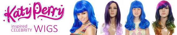 KATY PERRY Inspired Celebrity Wigs - Click here to view!
