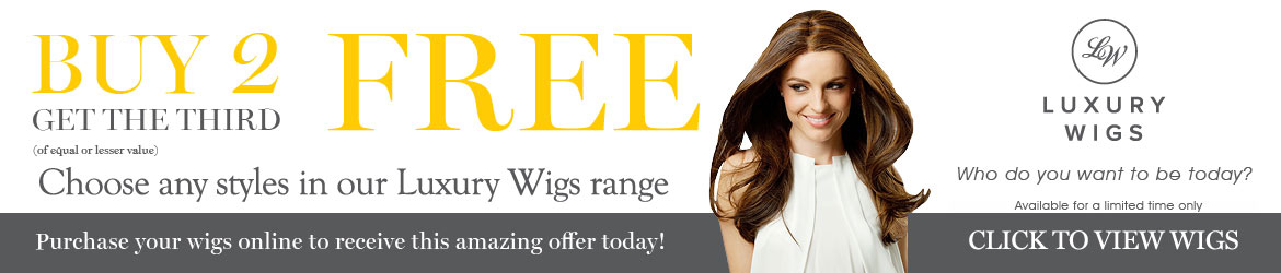 BUY ANY 2 LUXURY WIGS & GET 1 FREE - Click to view all wigs