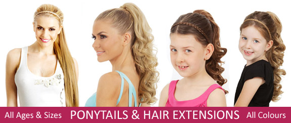 View our range of Ponytails here