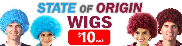 State Of Origin Wigs On Sale Now