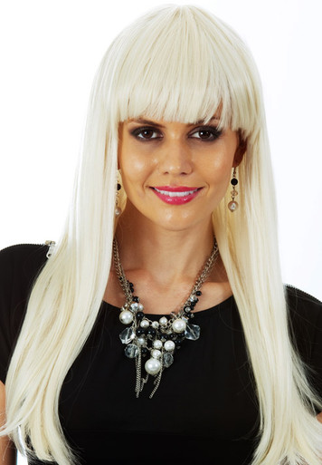 Glamour Girl - Blonde Deluxe Costume Wig (Heat Resistant)