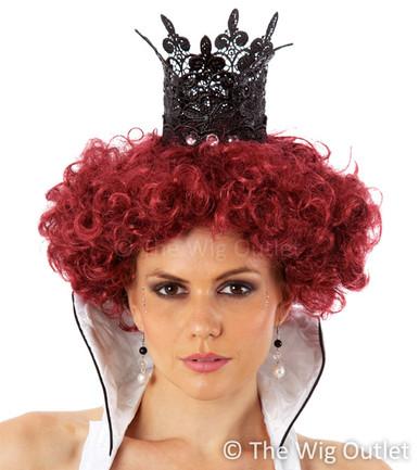 Queen Of Hearts (Auburn) Costume Wig