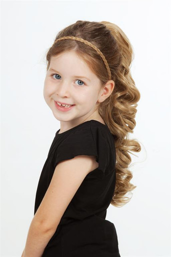 Deluxe Ponytail - 48cm Curly Claw & Drawstring Attachment (9 Colours) (34020)