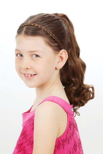 Deluxe Ponytail - 30cm Curly Claw & Drawstring Attachment (10 Colours) (34010)