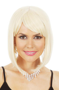 Glamour Long Bob (Blonde) Costume Wig - by Allaura