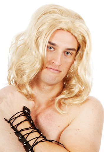 He-man / Thor Blonde Men's Costume Wig