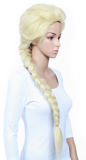 DELUXE Frozen Inspired Elsa Costume Wig - High Quality